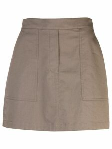 Theory short cargo skirt - Green