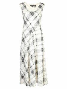 Theory plaid day dress - White