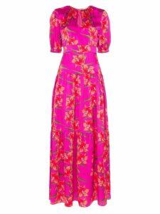 Borgo De Nor Alma floral print maxi dress - Pink