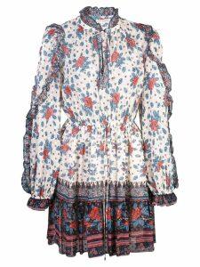 Ulla Johnson floral day dress - Neutrals