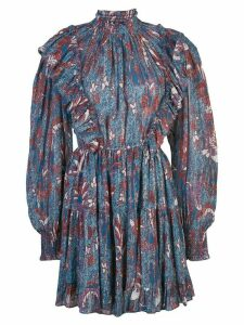 Ulla Johnson floral print dress - Blue