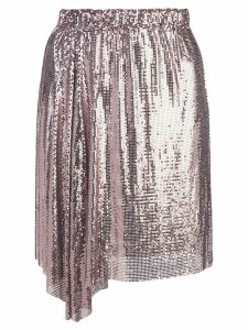 Paco Rabanne chainmail skirt - PINK