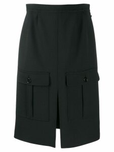 Chloé flap pocket skirt - Black