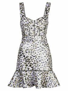 Jonathan Simkhai leopard print dress - Purple
