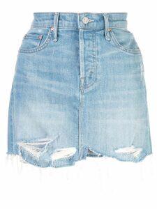 Mother denim skirt - Blue