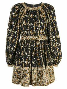 Ulla Johnson embroidered dress - Black