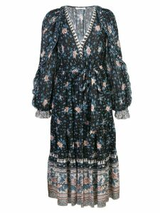 Ulla Johnson floral day dress - Blue