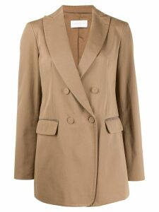 Fabiana Filippi classic double-breasted blazer - Neutrals