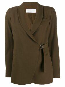 Fabiana Filippi straight-fit blazer - Brown