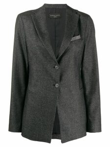 Fabiana Filippi classic single-breasted blazer - Grey