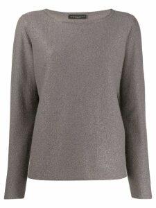 Fabiana Filippi metallized jumper - Grey