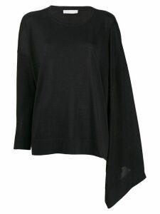 Fabiana Filippi asymmetric shirt - Black