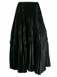 Fabiana Filippi pleated balloon skirt - Black
