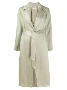 Forte Forte trench coat - Green