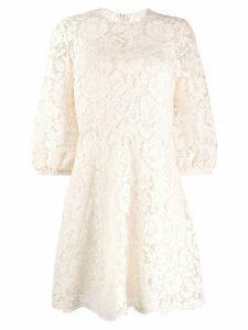 Valentino lace mini dress - Neutrals