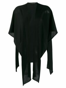 Fabiana Filippi knitted kimono - Black