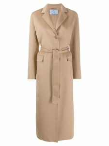 Prada single-breasted coat - F0040 Camel