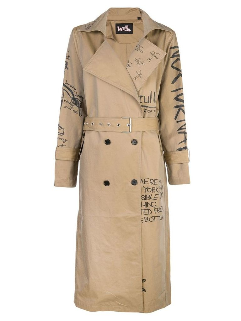 Haculla trench coat - Brown