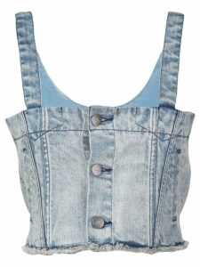 Haculla denim crop top - Blue