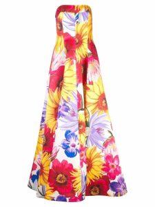 Borgo De Nor floral evening dress - Multicolour