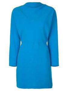 A.L.C. long-sleeve mini dress - Blue