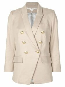 Veronica Beard double breasted blazer - Neutrals