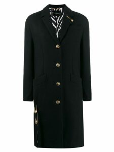 Versace tailored coat - Black