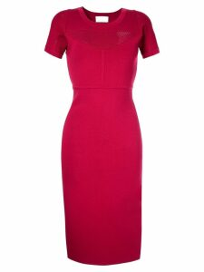 GINGER & SMART Addictive crepe knit dress - Pink