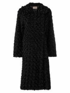 Christopher Kane reversible faux fur coat - Black
