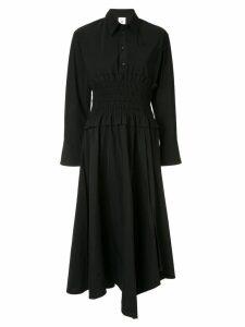 Maison Mihara Yasuhiro midi shirt dress - Black
