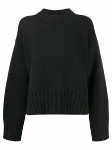 Prada oversized cashmere jumper - Black