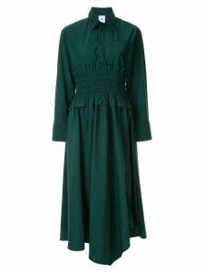 Maison Mihara Yasuhiro midi shirt dress - Green