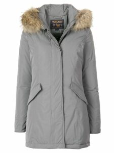 Woolrich padded hooded coat - Grey