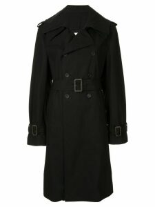 Maison Mihara Yasuhiro double breasted trench coat - Black