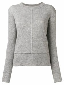 Woolrich piped seams jumper - Grey