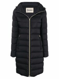 Herno zipped padded coat - Black