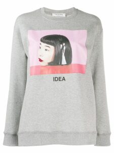 Valentino Izumi Miyazaki print sweatshirt - Grey