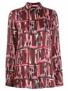 Just Cavalli printed long sleeve shirt - Red