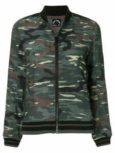 The Upside camouflage bomber jacket - Green