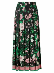 Gucci Flora print skirt - Black