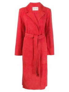 Stine Goya trench coat - Red