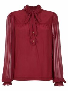 Isolda silk blouse - Red