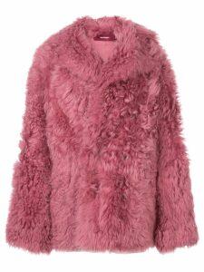Sies Marjan fur coat - Pink
