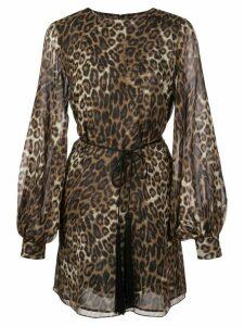 Nili Lotan Rebecca dress - Brown