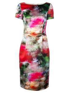 Adam Lippes all-over print dress - Multicolour