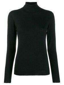 Brunello Cucinelli fitted roll-neck sweater - Black
