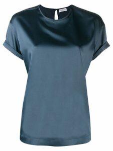 Brunello Cucinelli classic T-shirt - Blue