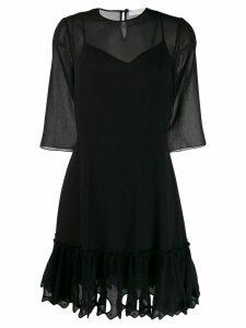 See By Chloé ruffled hem dress - Black