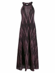 M Missoni metallic maxi dress - Black
