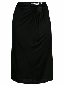 Opening Ceremony ruched style skirt - Black